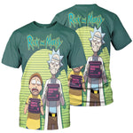 Load image into Gallery viewer, rick and morty shirt