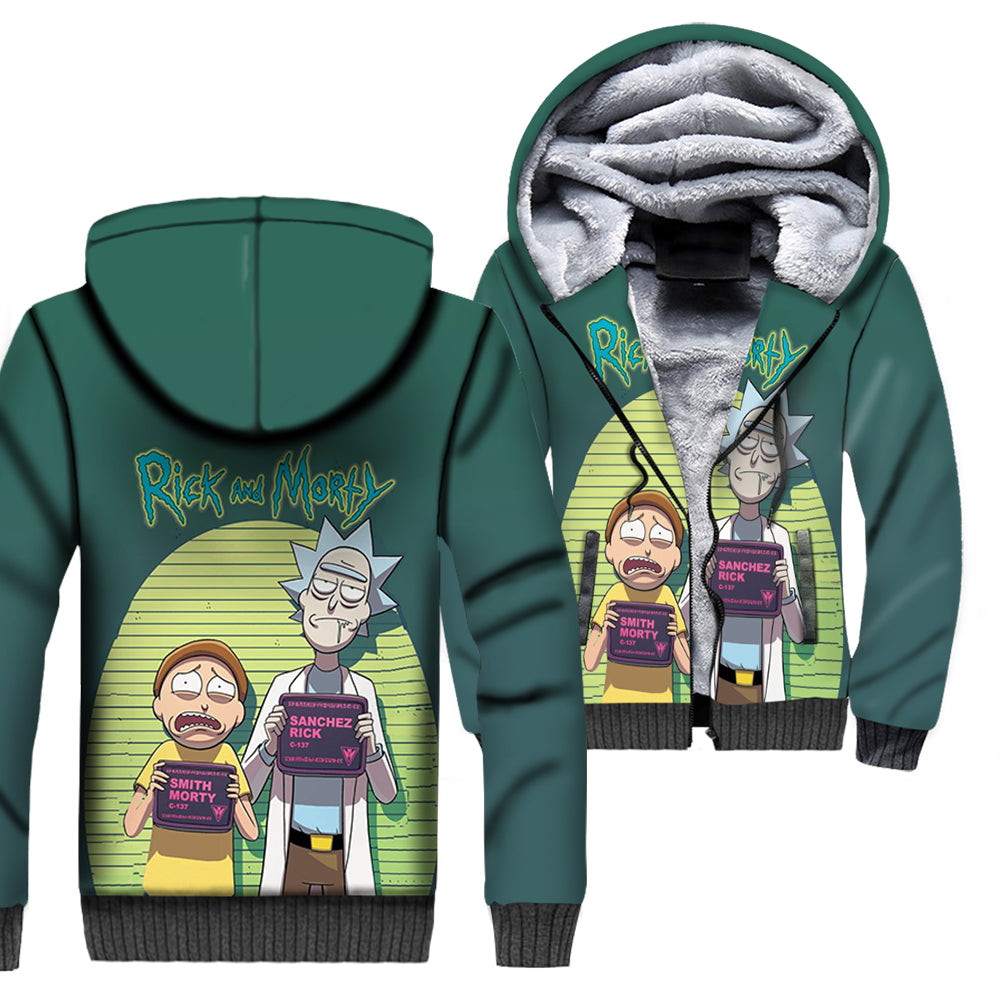 Rick And Morty All Over Printed Shirts For Men & Women 09
