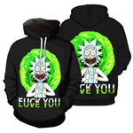 Load image into Gallery viewer, rick and morty hoodie