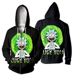 Load image into Gallery viewer, Rick And Morty All Over Printed Shirts For Men & Women 10