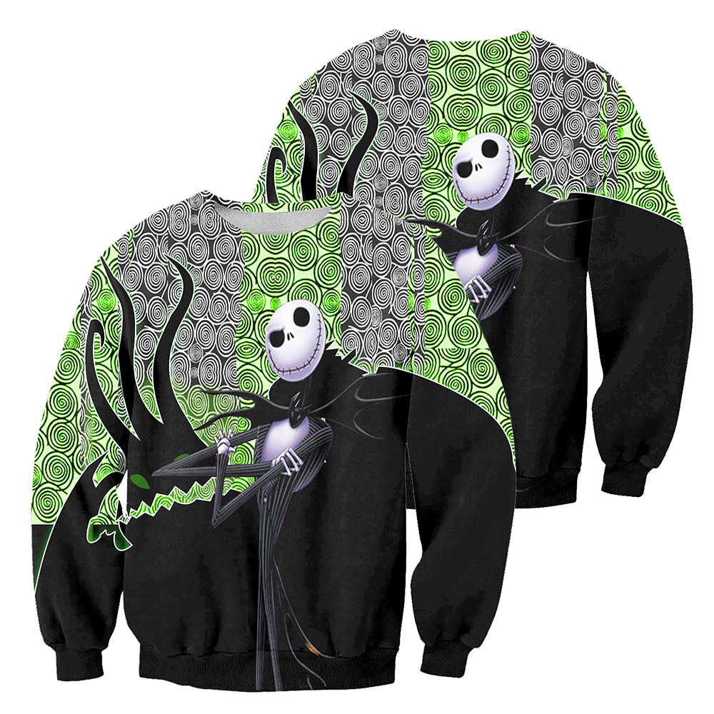 3D All Over Printed Jack Skellington Clothes 468