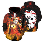 Load image into Gallery viewer, 3D All Over Printed Jason Voorhees Clothes 05