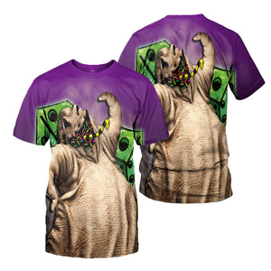 3D All Over Printed Oogie Boogie Clothes