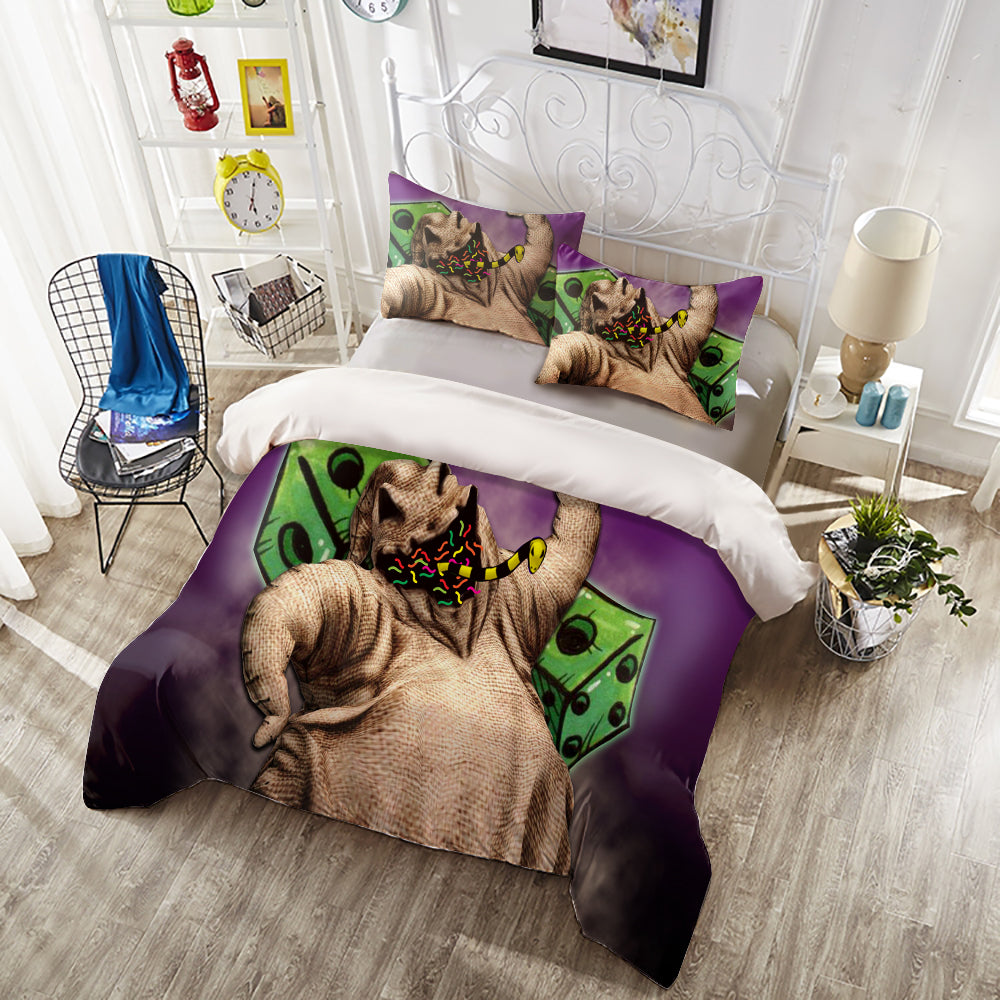 Bedding Set -  Purple Oogie Boogie