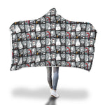 Load image into Gallery viewer, Nightmare christmas Hooded blanket