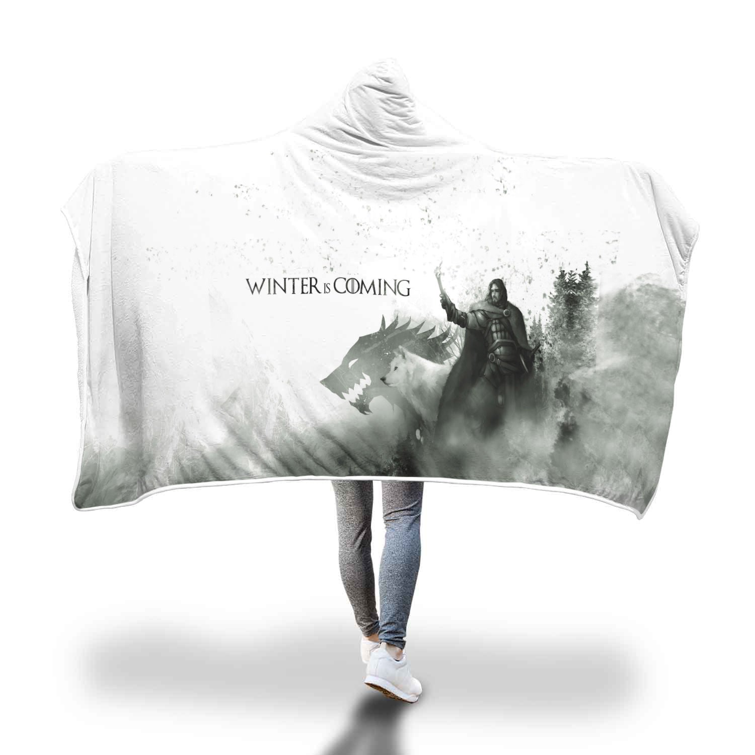 Game Of Thrones Hooded Blanket 04