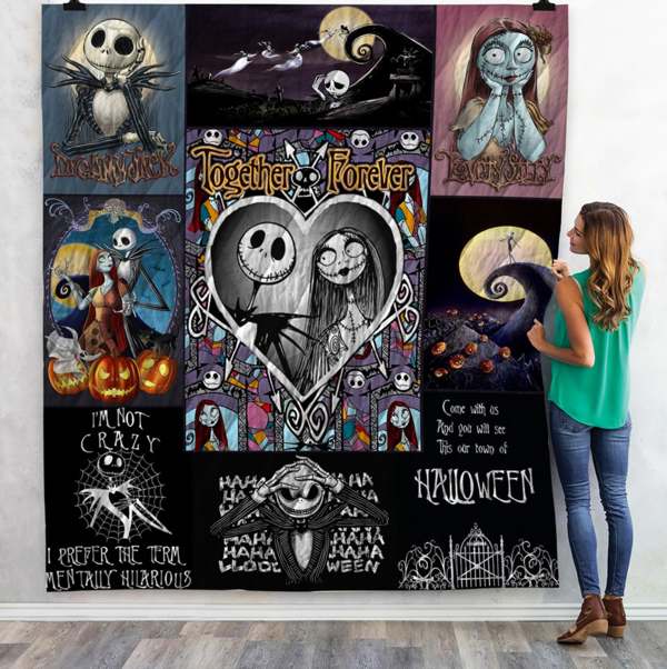 the nightmare before christmas quilt