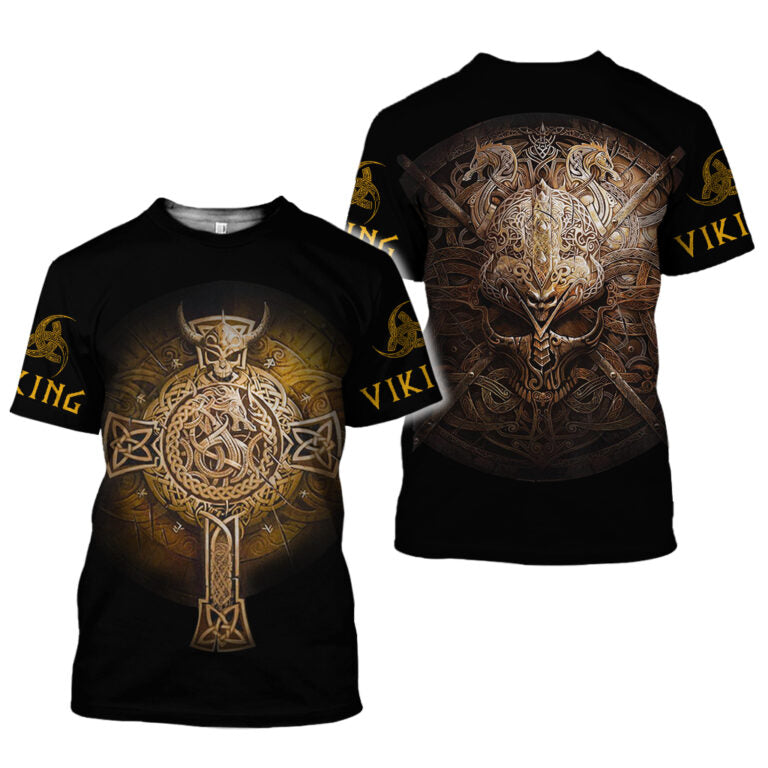 Vikings 3D All Over Printed Shirts For Men And Women 29