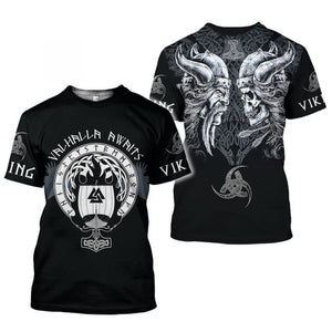 Vikings 3D All Over Printed Shirts For Men And Women 35