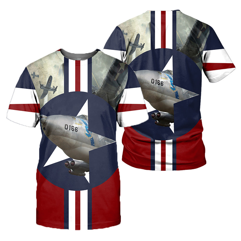 BF109 & B47 3D All Over Printed Shirts For Men And Women 07