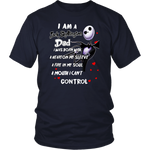 Load image into Gallery viewer, I Am Jack Skellington Dad T-Shirt