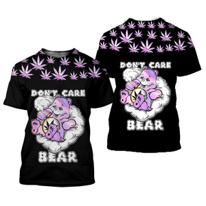 Don't Care Bear 3D All Over Printed Shirts For Men And Women 03