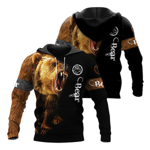 Bear 3D All Over Printed Shirts For Men And Women 04