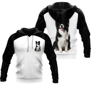 Border Collie 3D All Over Printed Shirts For Men And Women 09