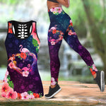 Load image into Gallery viewer, Flamingo Heart Women Tank Top & Legging Set 02