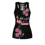 Load image into Gallery viewer, Flamingo Girl Women Tank Top & Legging Set 01
