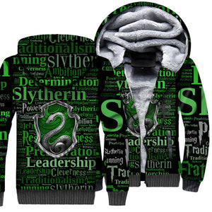 Slytherin  3D All Over Printed Shirts For Men and Women 05
