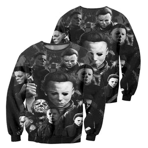 3D All Over Printed Michael Myers Halloween Clothes 10