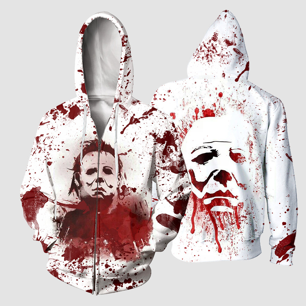 3D All Over Printed Michael Myers Halloween Clothes 13