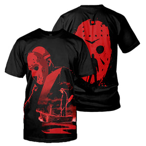 Jason Voorheers 3D All Over Printed Shirts For Men and Women