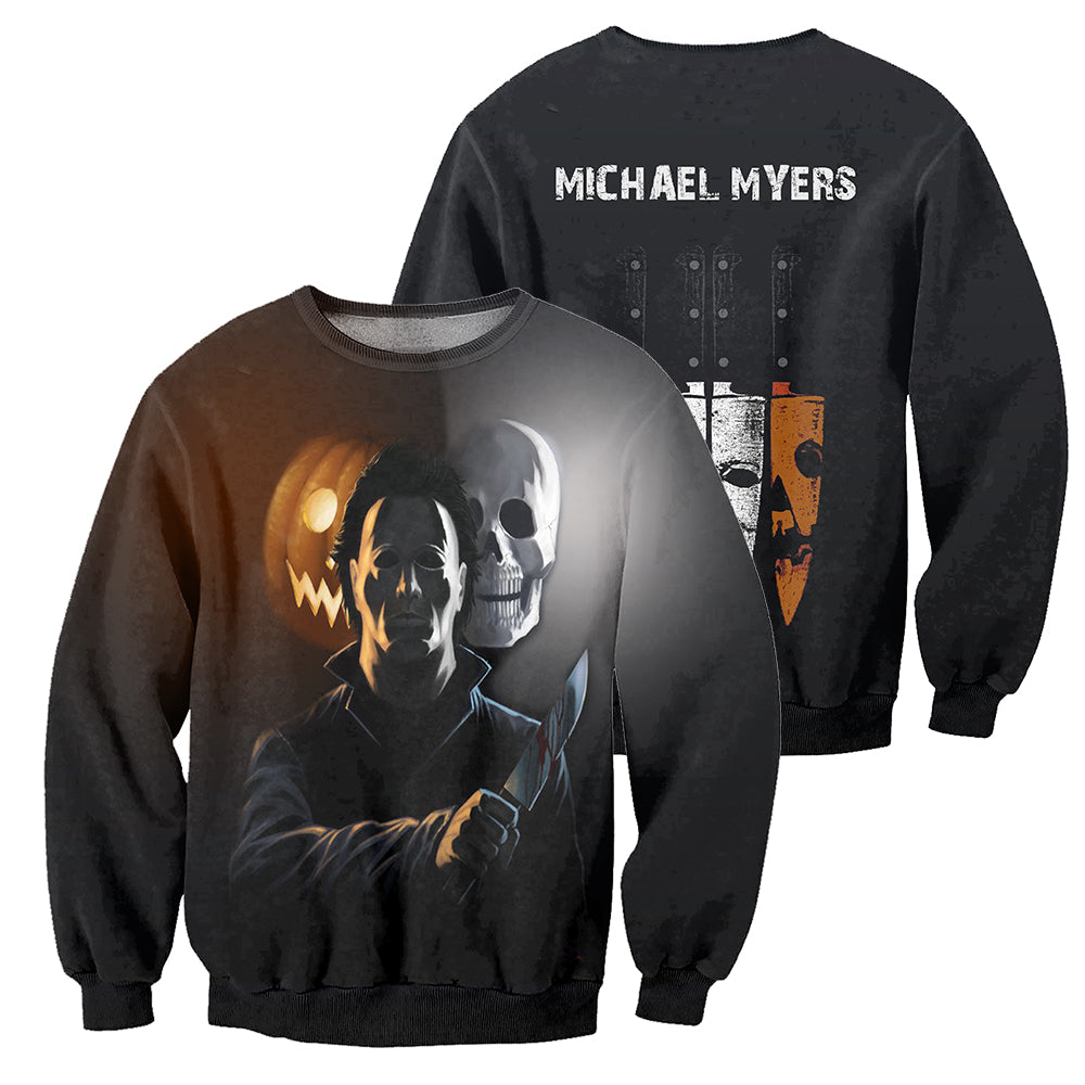 Michael Myers 3D All Over Printed Shirts For Men and Women 24