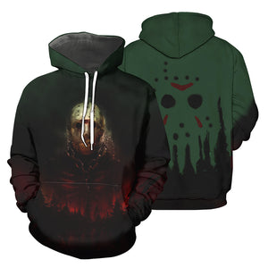 Jason Voorheers 3D All Over Printed Shirts For Men and Women 01
