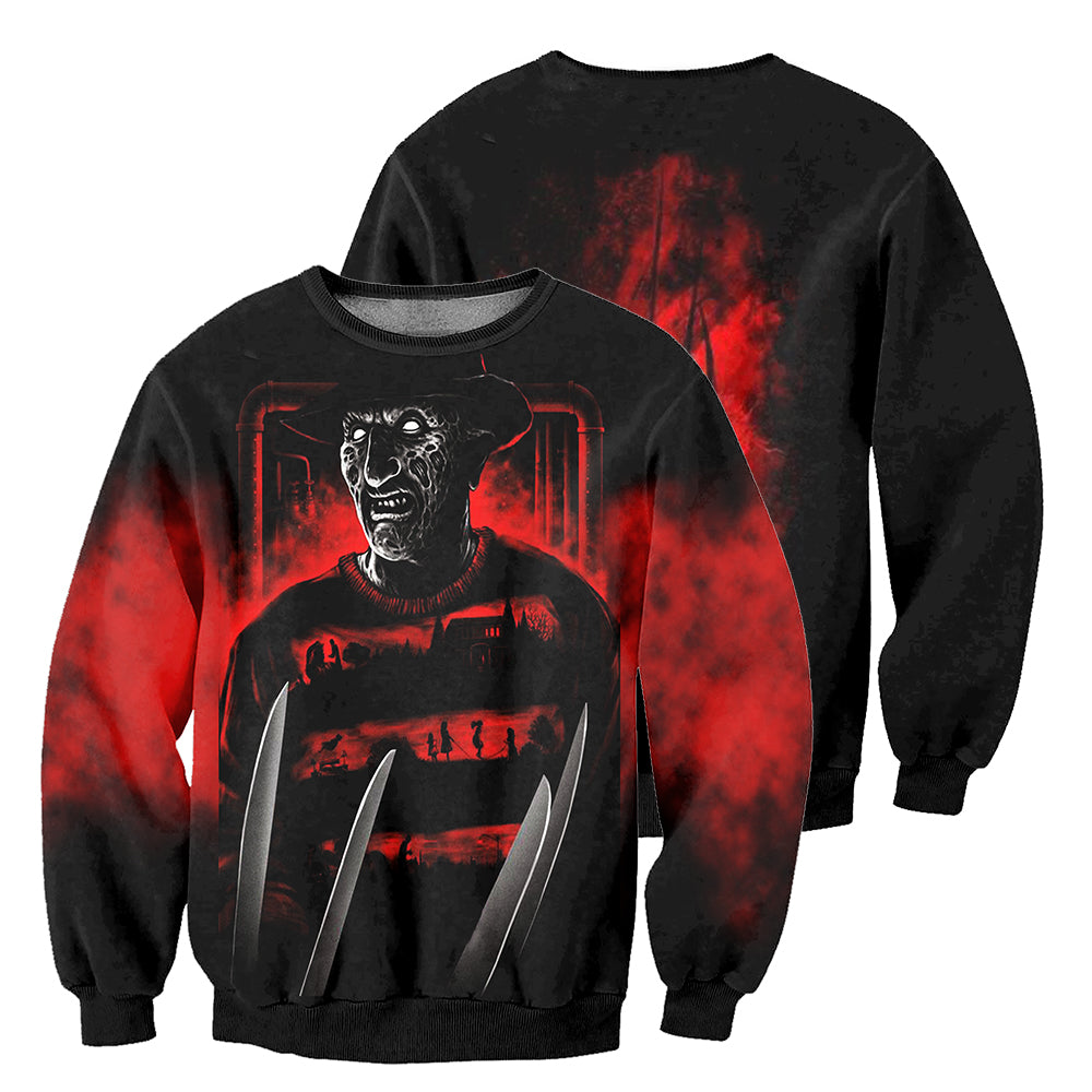 Freddy 3D All Over Printed Shirts For Men and Women