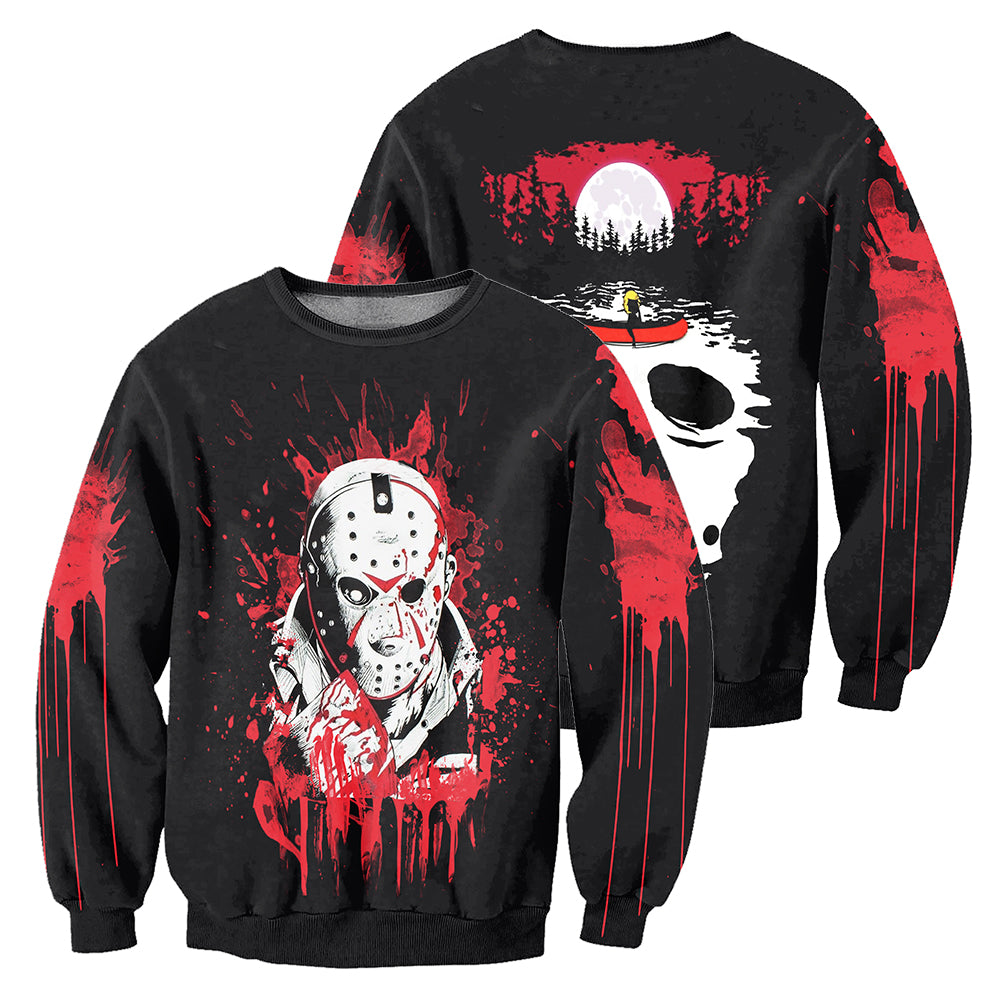 Jason Voorhees 3D All Over Printed Shirts For Men and Women 06