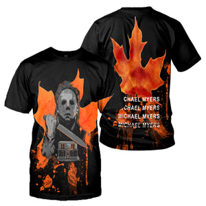 Michael Myers 3D All Over Printed Shirts For Men and Women 14