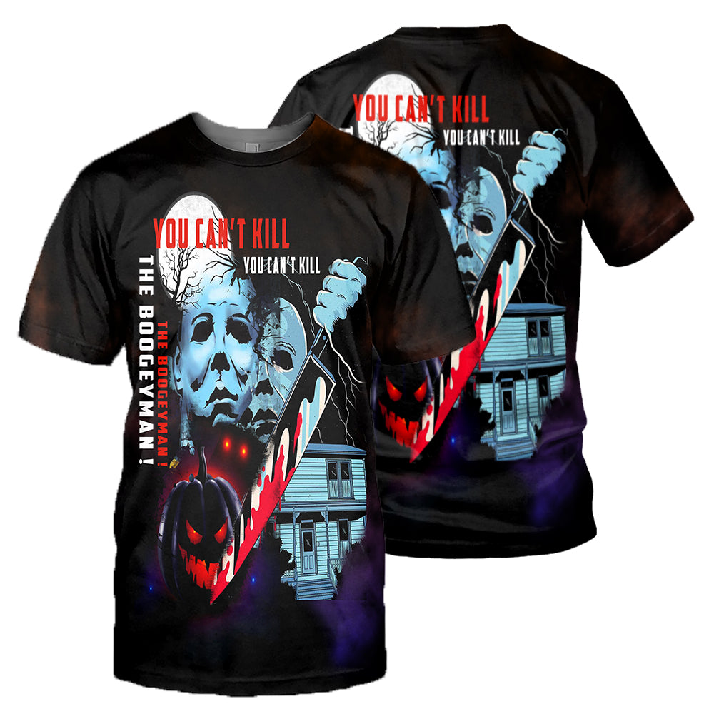 Michael Myers 3D All Over Printed Shirts For Men and Women 21