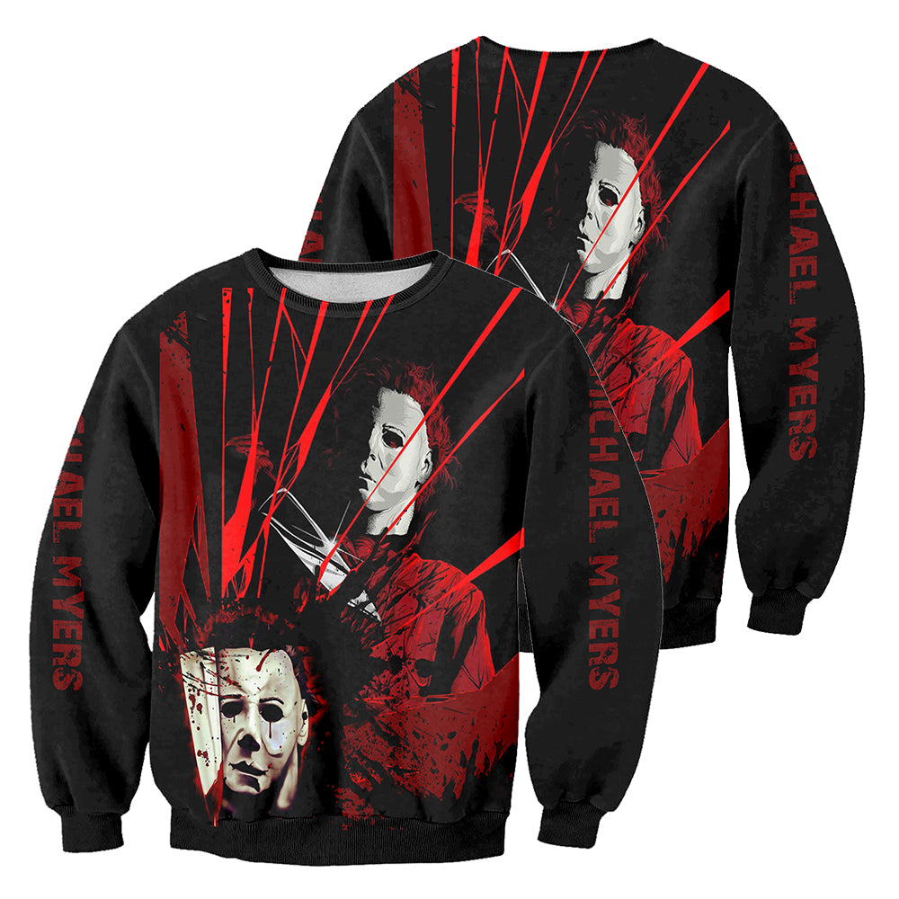 Michael Myers 3D All Over Printed Shirts For Men and Women 27