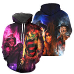 Load image into Gallery viewer, Freddy Krueger 3D All Over Printed Shirts For Men and Women 04
