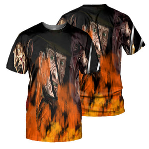Freddy Krueger 3D All Over Printed Shirts For Men and Women 05