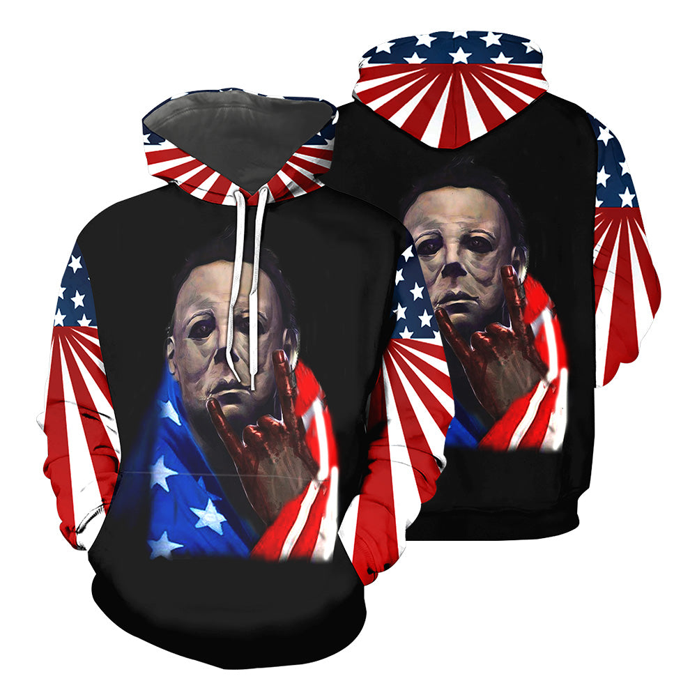 Michael Myers 3D All Over Printed Shirts For Men and Women 40
