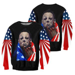 Load image into Gallery viewer, Michael Myers 3D All Over Printed Shirts For Men and Women 40