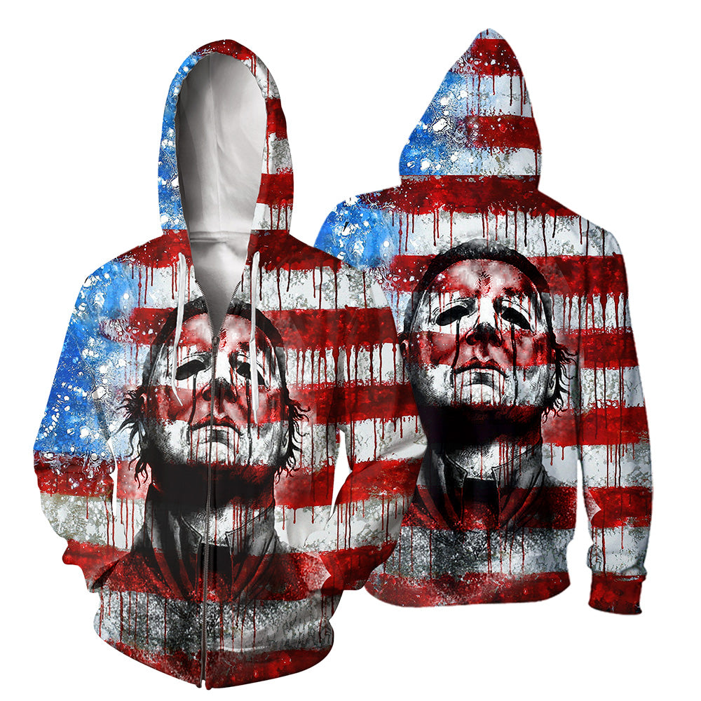 Michael Myers 3D All Over Printed Shirts For Men and Women 112