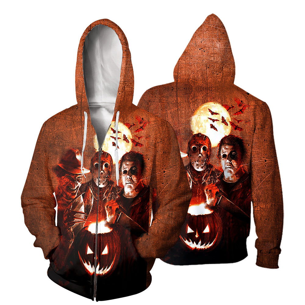 Horror movie 3D All Over Printed Shirts For Men and Women 114