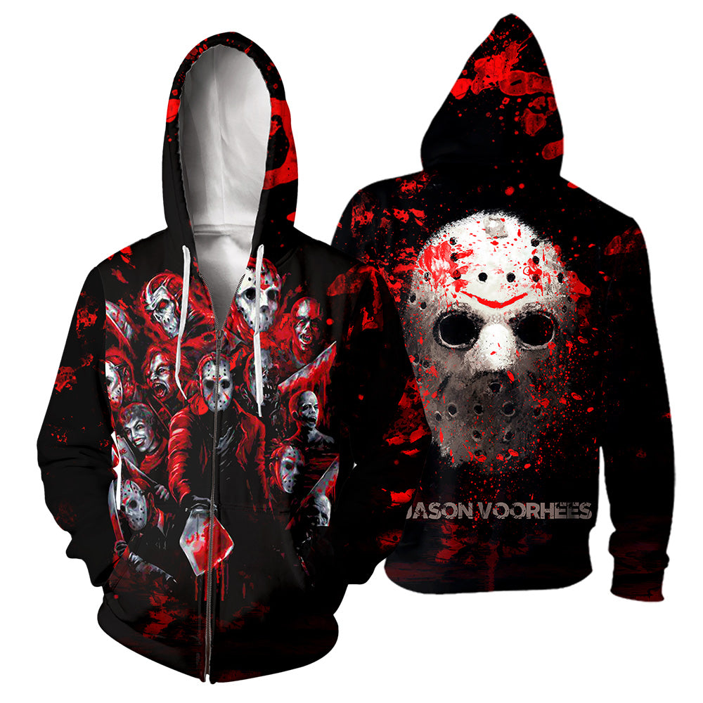 Jason Voorhees 3D All Over Printed Shirts For Men and Women 134