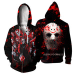 Load image into Gallery viewer, Jason Voorhees 3D All Over Printed Shirts For Men and Women 134