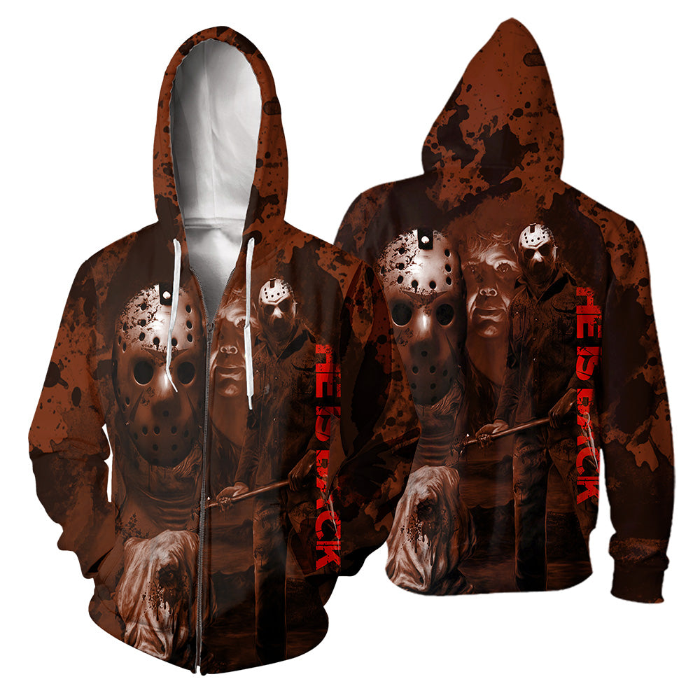 Jason Voorhees 3D All Over Printed Shirts For Men and Women 135