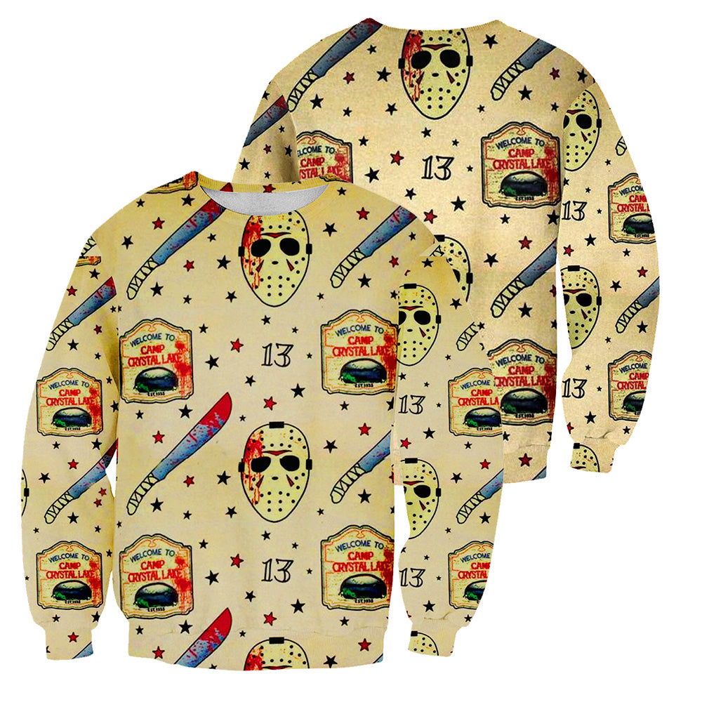 Jason Voorhees 3D All Over Printed Shirts For Men and Women 138