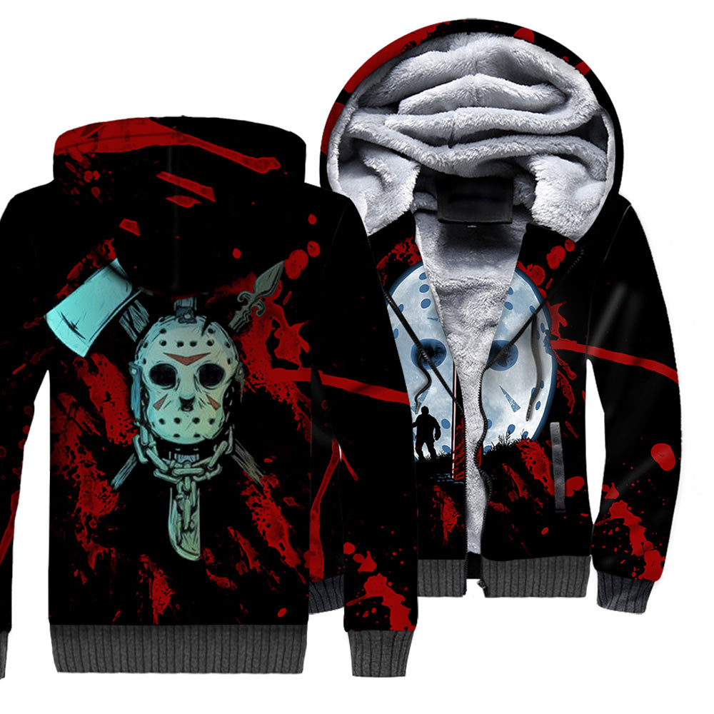 Jason Voorhees 3D All Over Printed Shirts For Men and Women 143