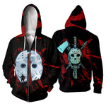 Load image into Gallery viewer, Jason Voorhees 3D All Over Printed Shirts For Men and Women 143