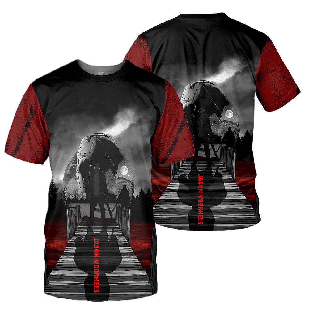 Jason Voorhees 3D All Over Printed Shirts For Men and Women 173