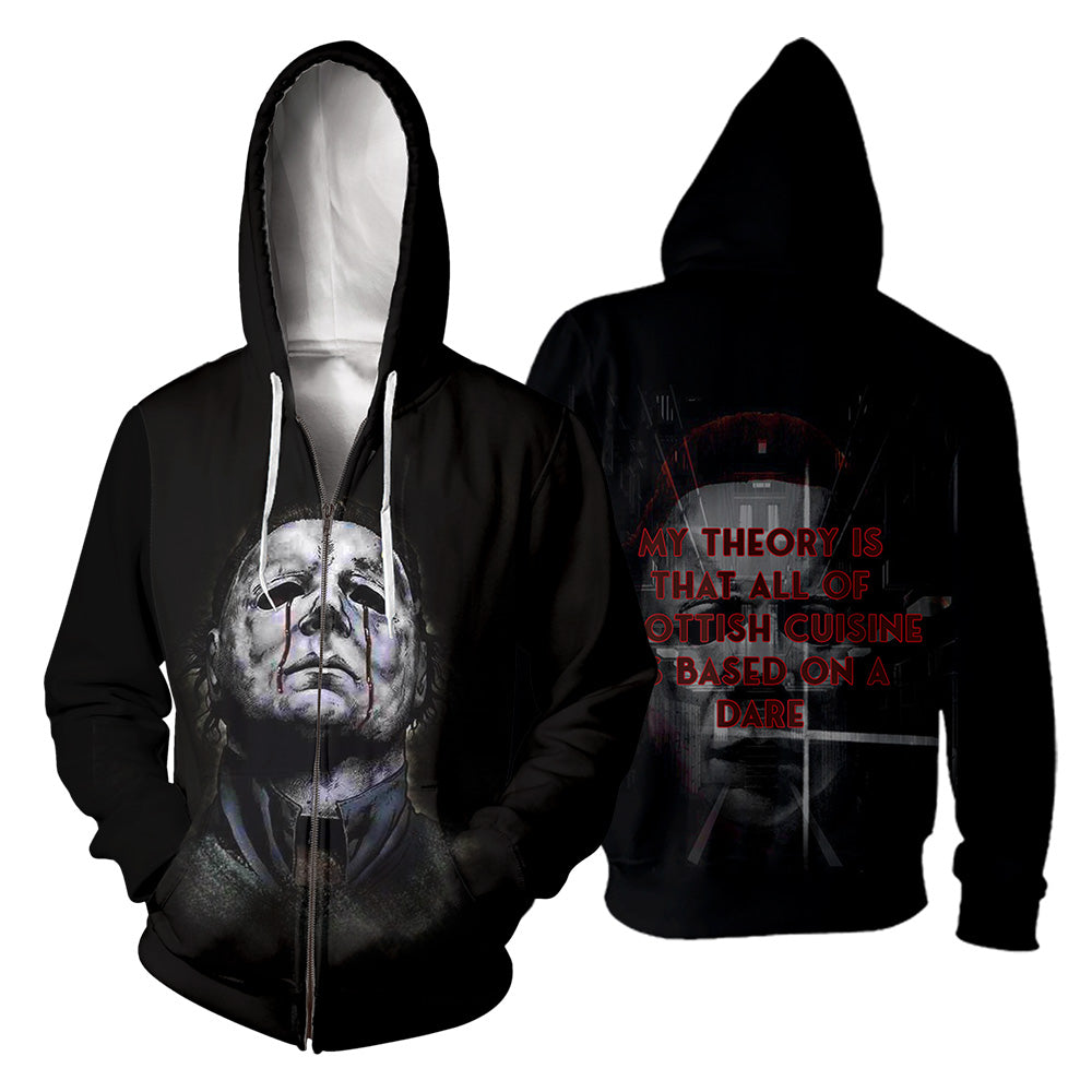 Michael Myers 3D All Over Printed Shirts For Men and Women 183