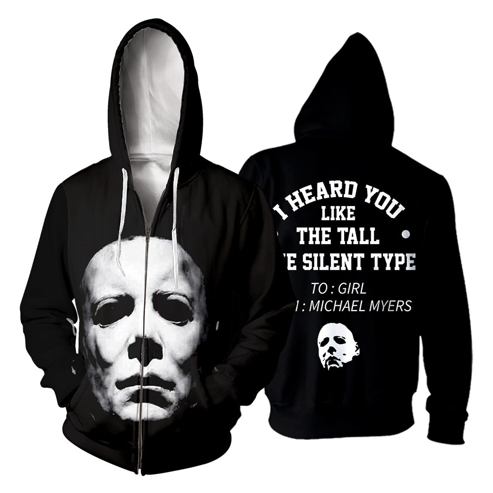 Michael Myers 3D All Over Printed Shirts For Men and Women 184