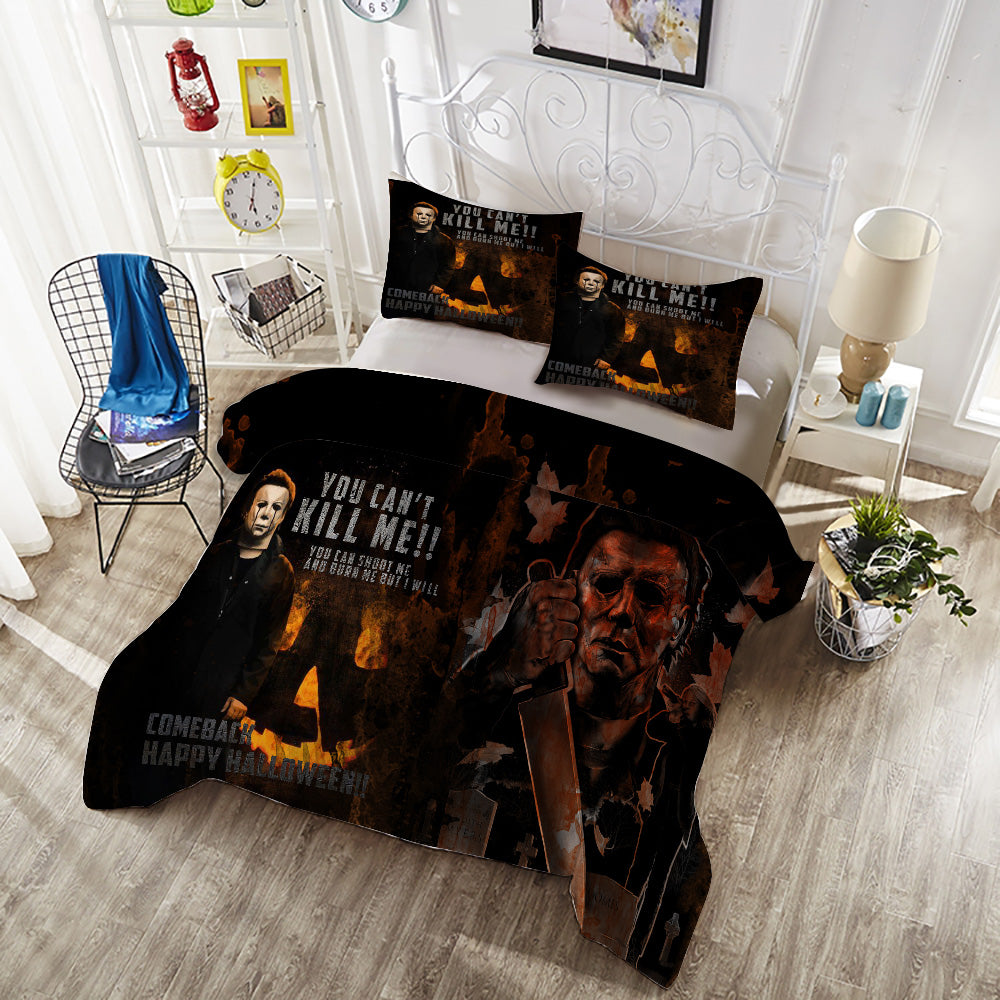 michael myers duvet cover