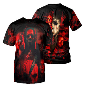 Michael Myers 3D All Over Printed Shirts For Men and Women 195