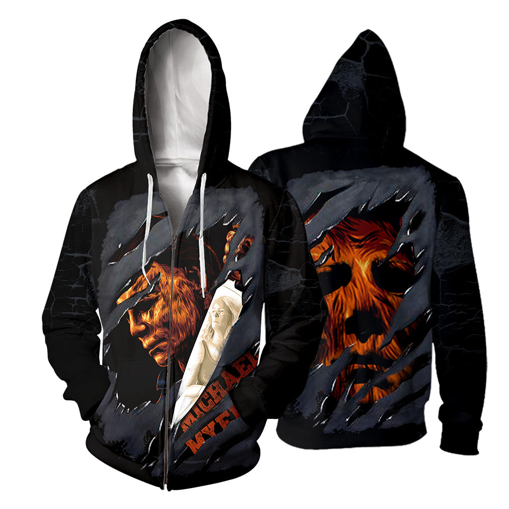 Michael Myers 3D All Over Printed Shirts For Men and Women 247