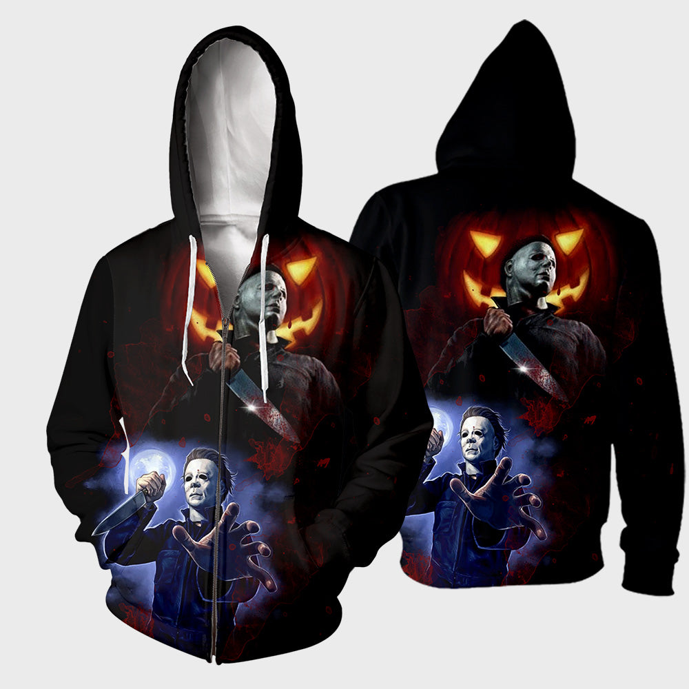 Michael Myers 3D All Over Printed Shirts For Men and Women 290